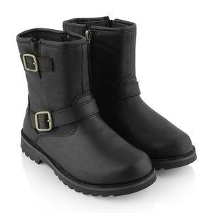 UGG girls leather Harwell buckle boots uggs